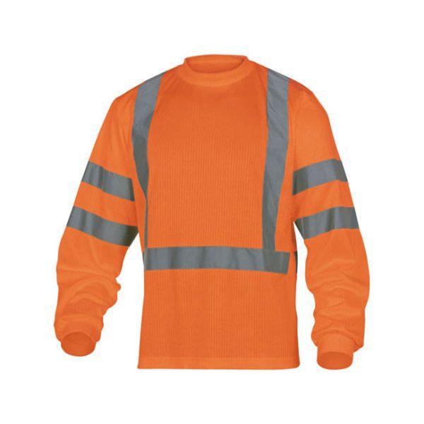 camiseta-deltaplus-alta-visibilidad-rudder-naranja-fluor