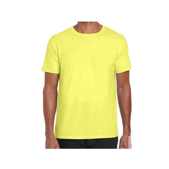 camiseta-gildan-softstyle-ring-spun-64000-amarillo-maiz