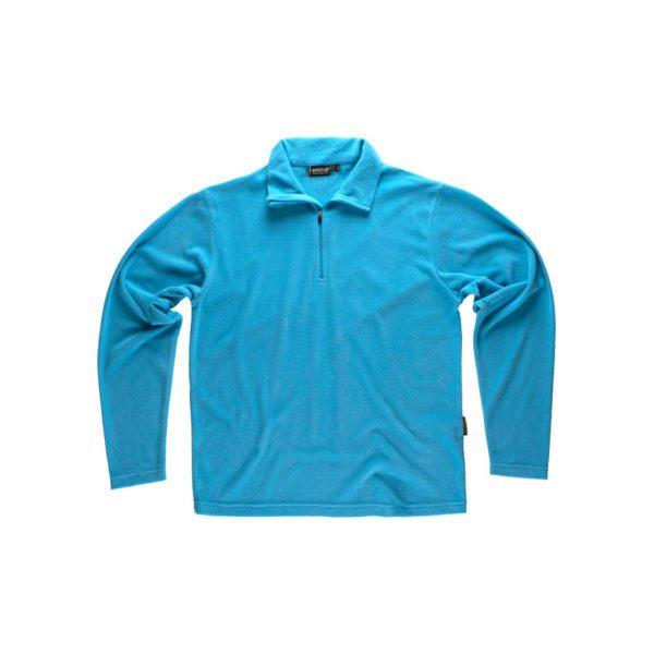 camiseta-polar-workteam-s4001-azul-celeste