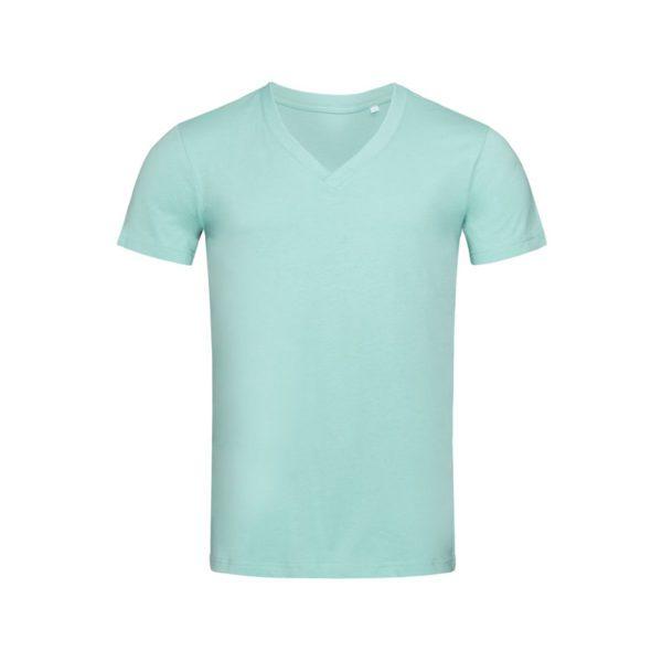 camiseta-stedman-st9210-organica-james-cuello-v-hombre-azul-hielo