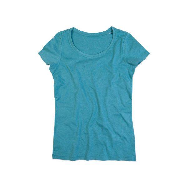 camiseta-stedman-st9900-lisa-mujer-aqua-heather