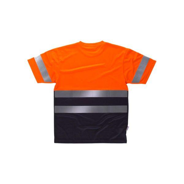 camiseta-workteam-alta-visibilidad-c3941-azul-marino-naranja