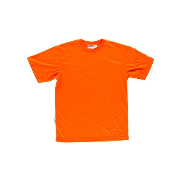 camiseta-workteam-alta-visibilidad-c6010-naranja-fluor