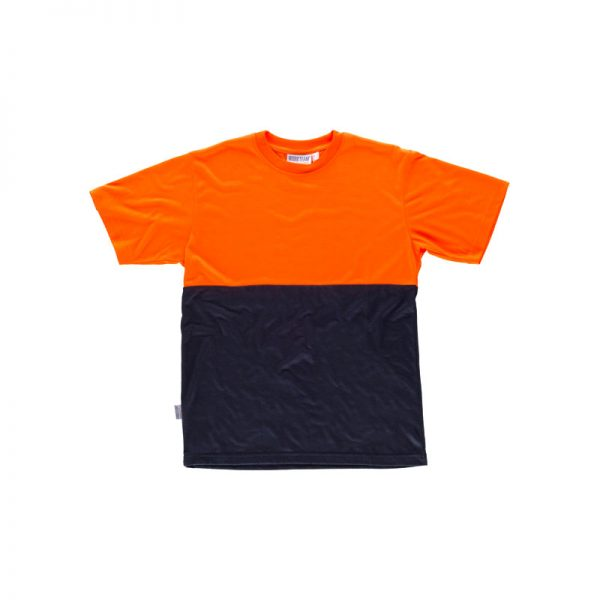 camiseta-workteam-alta-visibilidad-c6020-azul-marino-naranja