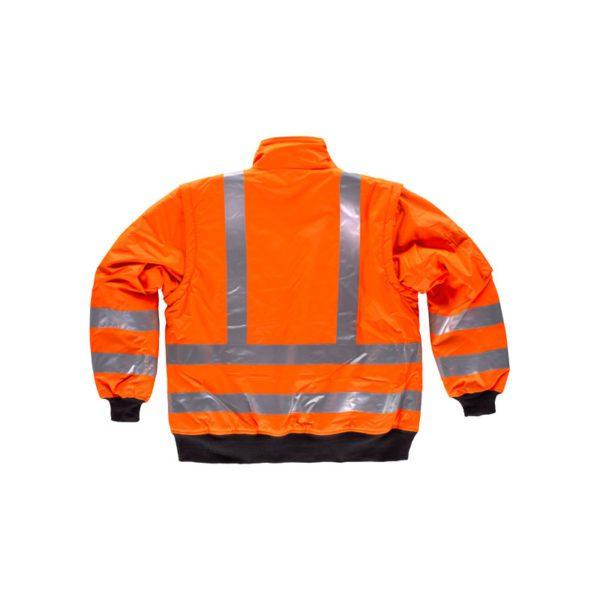 cazadora-workteam-alta-visibilidad-desmontable-c3720-naranja-fluor