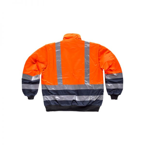 cazadora-workteam-alta-visibilidad-desmontable-c3730-naranja-fluor