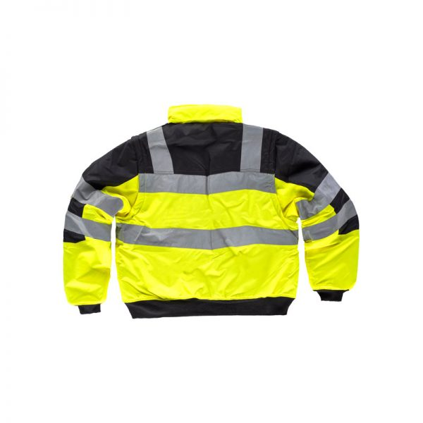 cazadora-workteam-alta-visibilidad-desmontable-c3750-negro-amarillo