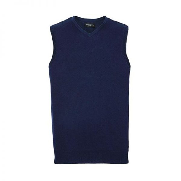 chaleco-russell-punto-716m-azul-denim-marl