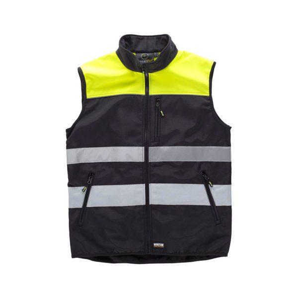 chaleco-workteam-alta-visibilidad-c2921-negro-amarillo-fluor