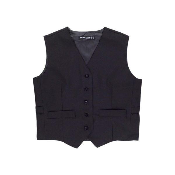 chaleco-workteam-b9030-negro
