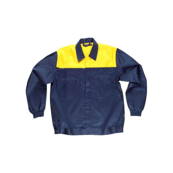 chaqueta-workteam-c1101-azul-marino-amarillo