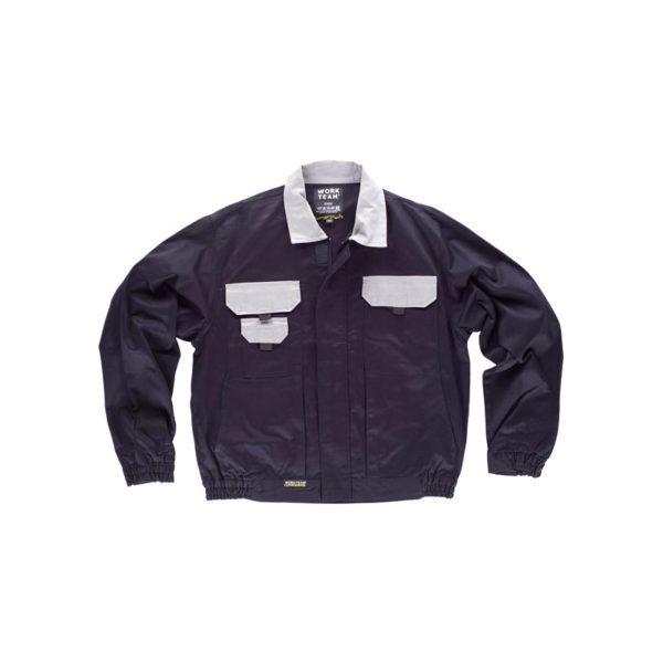 chaqueta-workteam-wf1160-negro-gris
