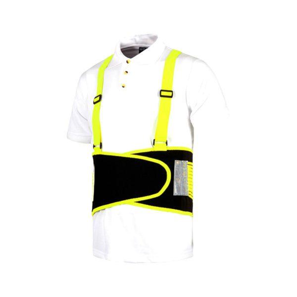 faja-lumbar-workteam-wfa305-negro-amarillo