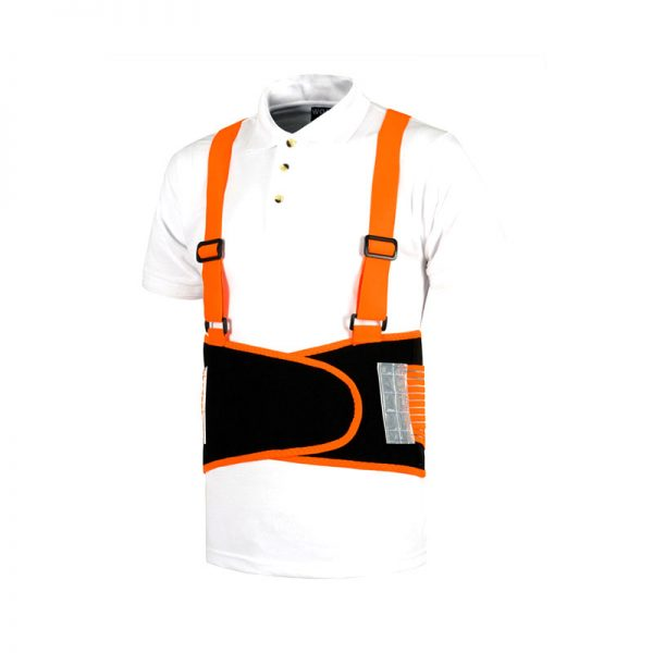 faja-lumbar-workteam-wfa305-negro-naranja-fluor