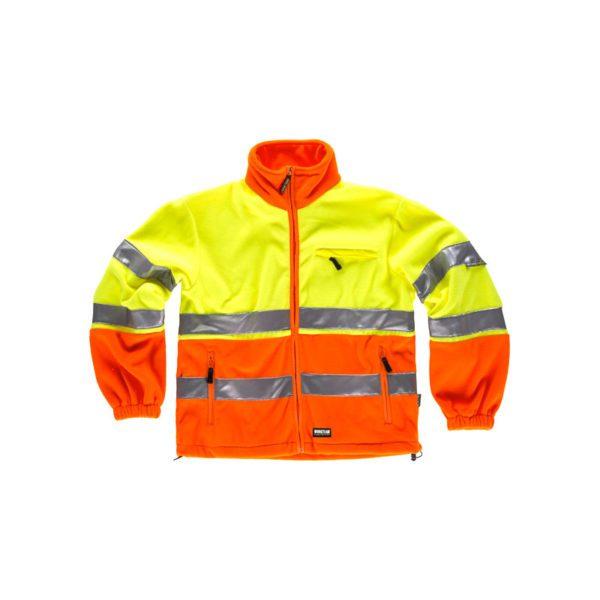 forro-polar-workteam-alta-visibilidad-c4026-naranja-amarillo
