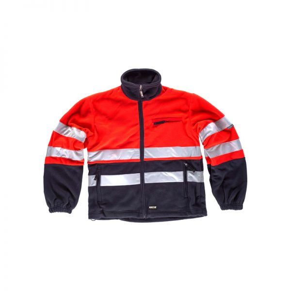 forro-polar-workteam-alta-visibilidad-c4027-azul-marino-rojo