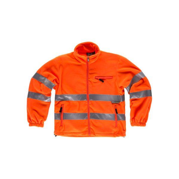 forro-polar-workteam-alta-visibilidad-c4035-naranja-fluor