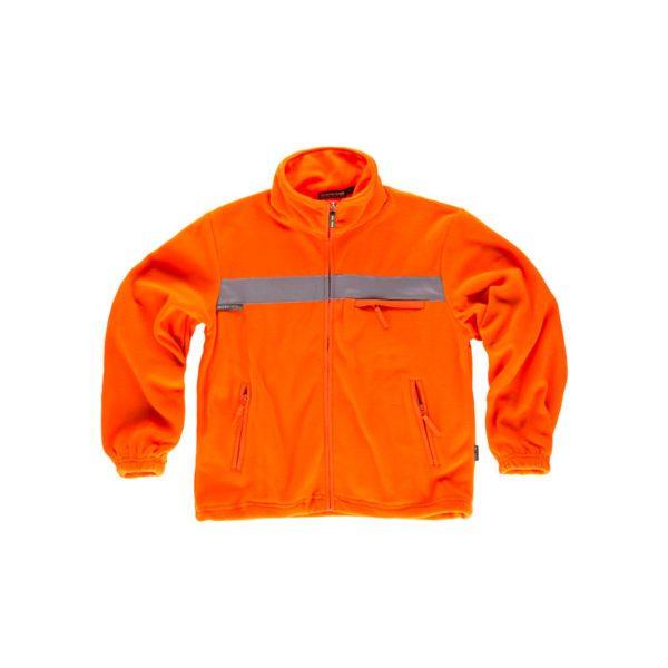 forro-polar-workteam-alta-visibilidad-c4040-naranja-fluor