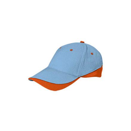 gorra-valento-tuxton-azul-celeste-naranja