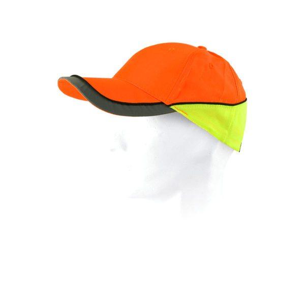 gorra-workteam-alta-visibilidad-wfa903-naranja-amarillo