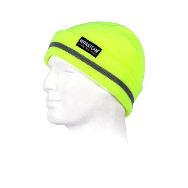 gorro-workteam-alta-visibilidad-wfa915-amarillo-fluor