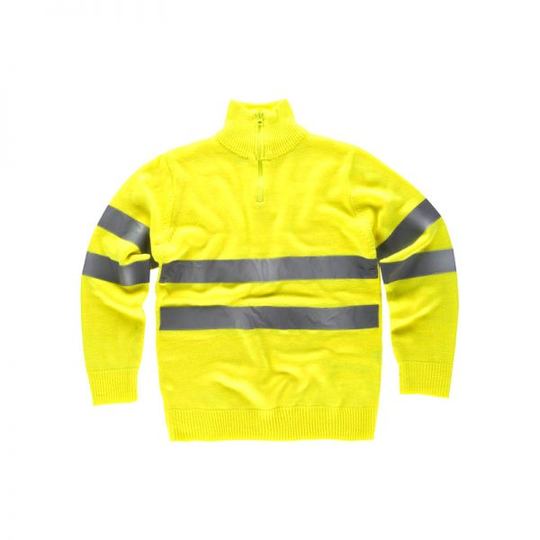 jersey-workteam-alta-visibilidad-c5508-amarillo-fluor