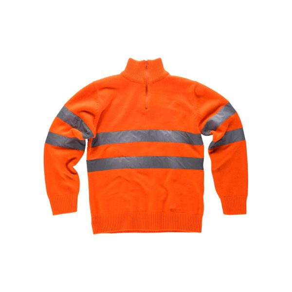 jersey-workteam-alta-visibilidad-c5508-naranja-fluor