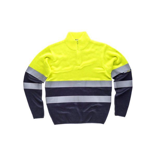 jersey-workteam-alta-visibilidad-c5511-azul-marino-amarillo