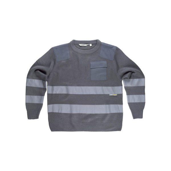 jersey-workteam-alta-visibilidad-s5507-gris