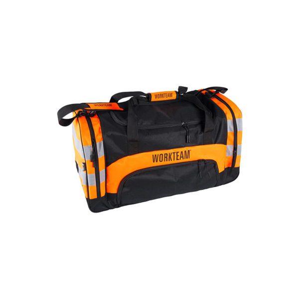 macuto-workteam-alta-visibilidad-wfa403-naranja-fluor-negro