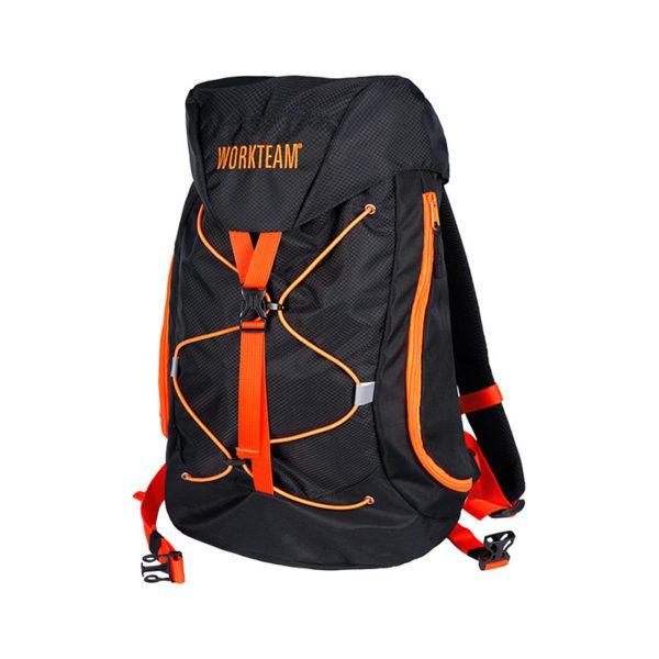 mochila-workteam-alta-visibilidad-wfa402-negro-naranja-fluor