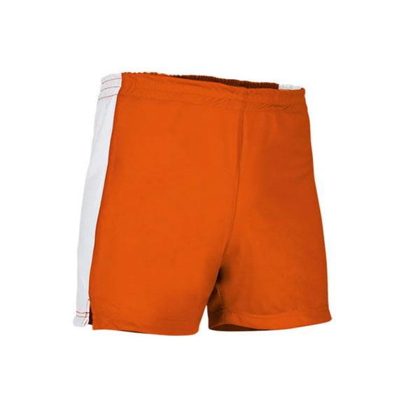pantalon-corto-valento-milan-naranja-blanco