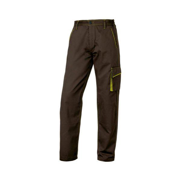 pantalon-deltaplus-m6pan-marron-verde