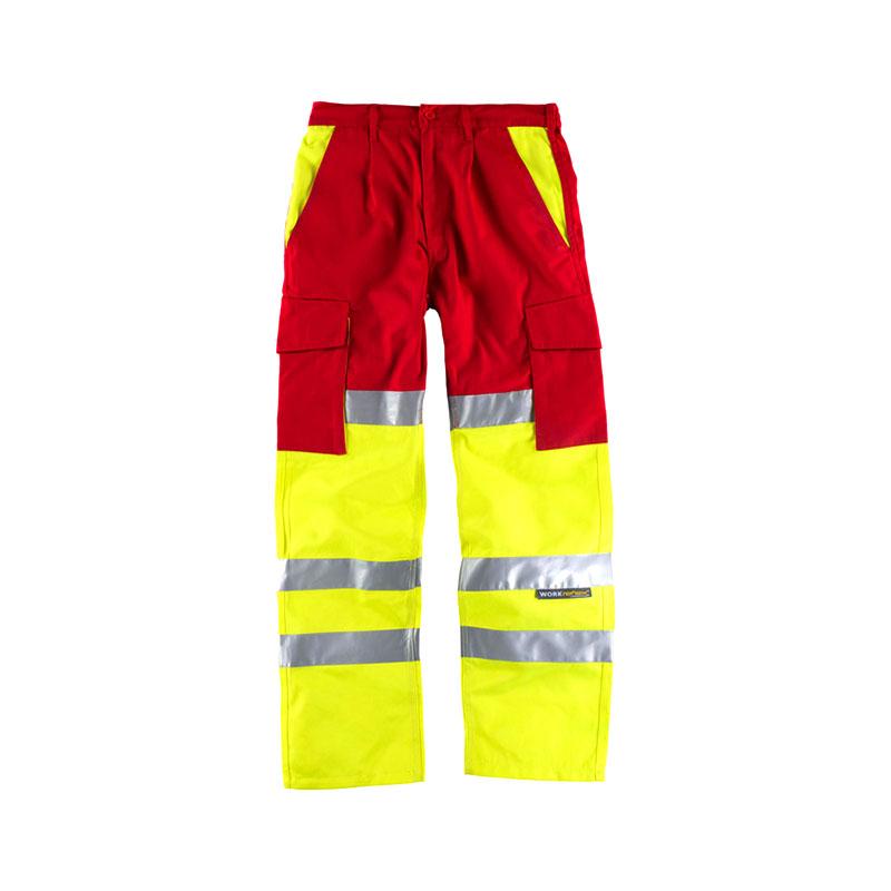 Pantalon Workteam Alta Visibilidad C3314 Workima