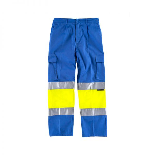 pantalon-workteam-alta-visibilidad-c4018-azul-celeste-amarillo