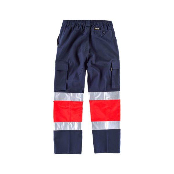 pantalon-workteam-alta-visibilidad-c4057-azul-marino-rojo-2