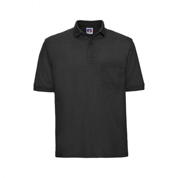 polo-russell-heavy-duty-011m-negro