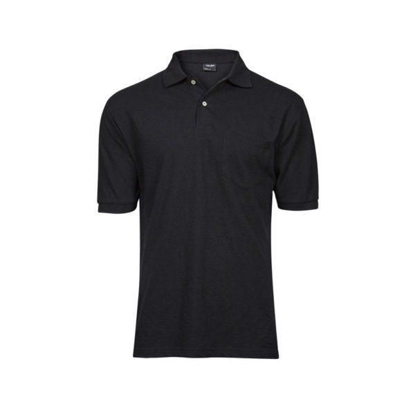 polo-tee-jays-pocket-2400-negro