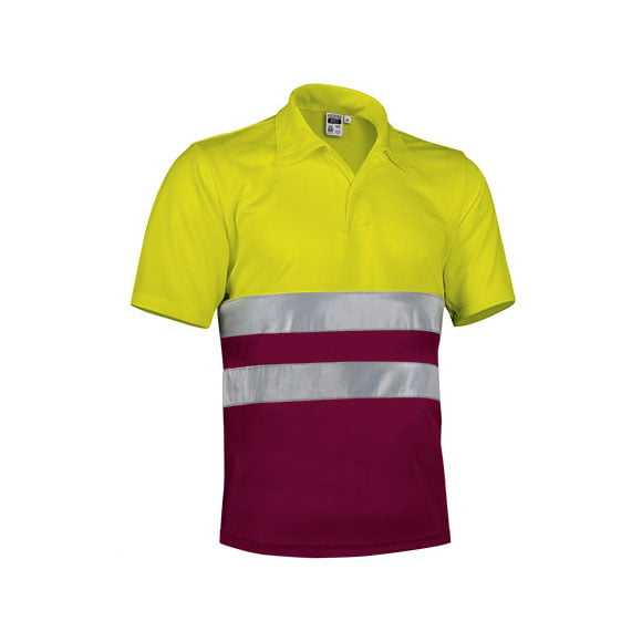 polo-valento-alta-visibilidad-build-amarillo-fluor-granate