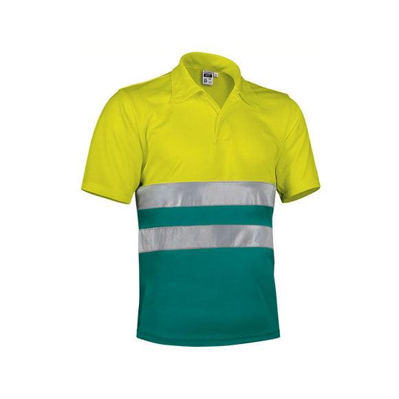 polo-valento-alta-visibilidad-build-amarillo-fluor-verde-amazonas