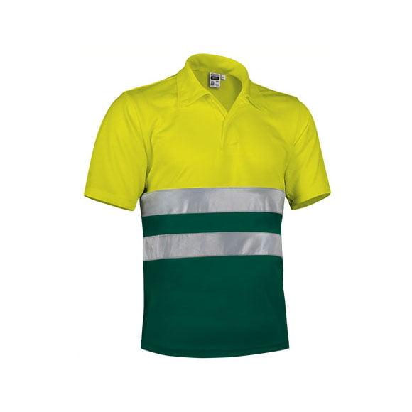 polo-valento-alta-visibilidad-build-amarillo-fluor-verde-botella