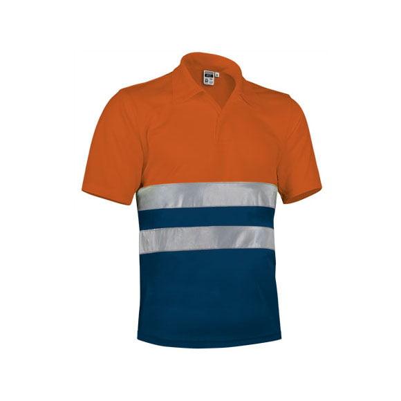 polo-valento-alta-visibilidad-build-naranja-fluor-marino