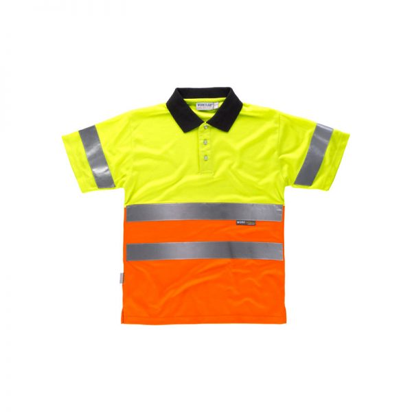 polo-workteam-alta-visibilidad-c3866-amarillo-naranja