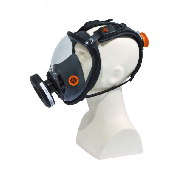 semimascara-deltaplus-m9200-negro-naranja