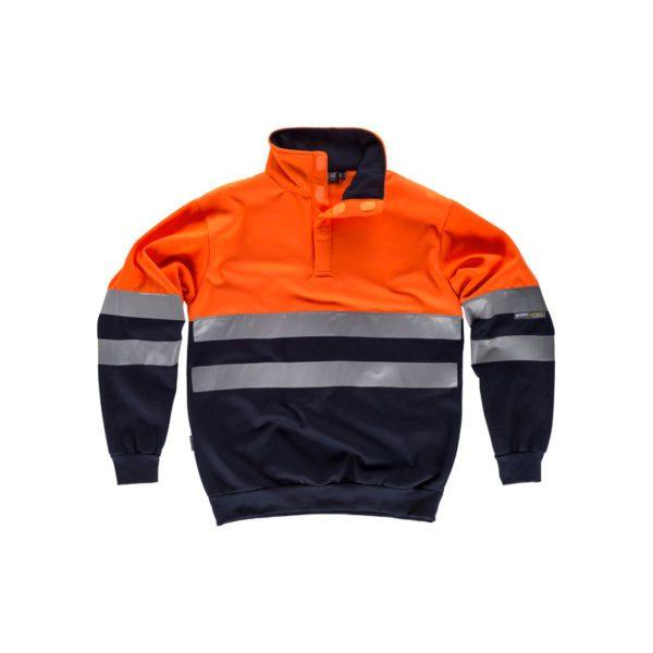 sudadera-workteam-alta-visibilidad-c3839-azul-marino-naranja