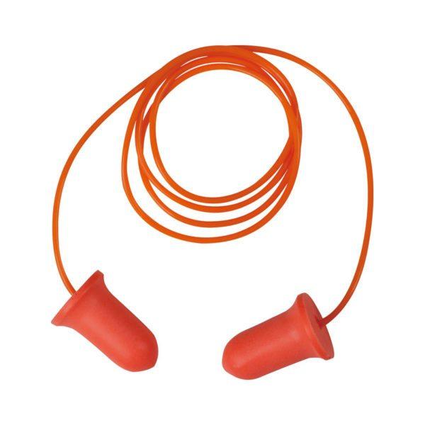 tapon-deltaplus-desechable-coniccoplus200-naranja-fluor