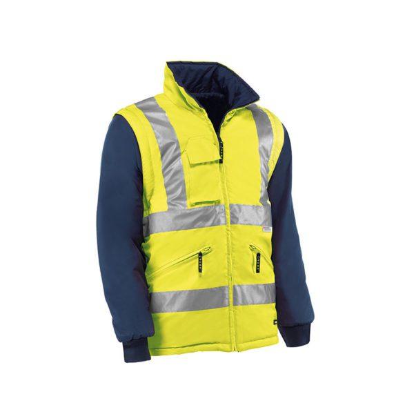 cazadora-juba-desmontable-alta-visibilidad-reflector-hv709-amarillo-fluor-azul