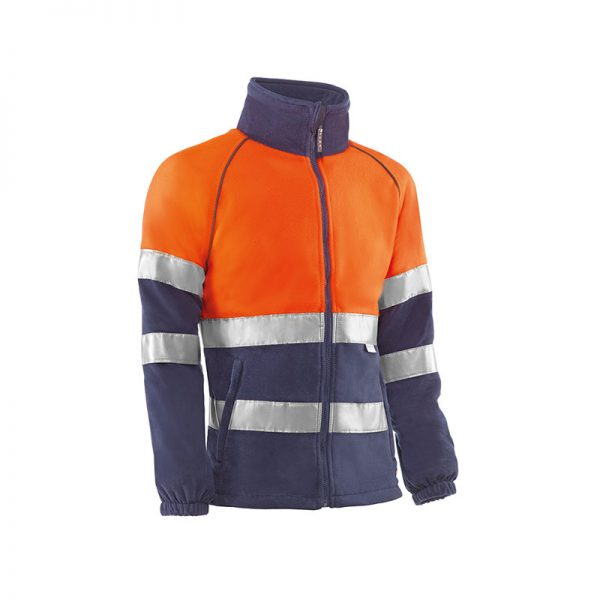 forro-polar-juba-alta-visibilidad-pirineos-hv773-naranja-fluor-azul