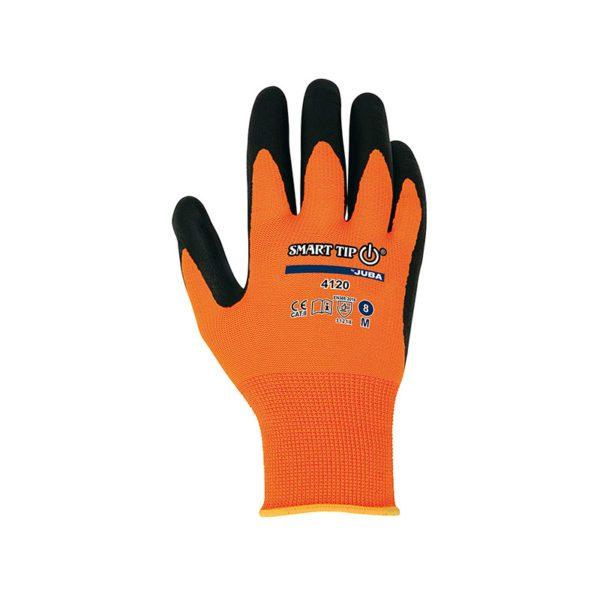 guante-juba-h4120-naranja-negro