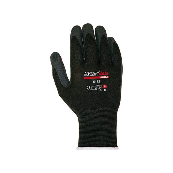 guante-juba-h5112-negro-rojo